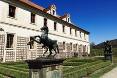 Wallenstein garden is situated in Prague on the Small Side, Czech Republic Royalty Free Stock Image