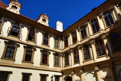 Wallenstein garden is situated in Prague on the Small Side, Czech Republic Stock Photos