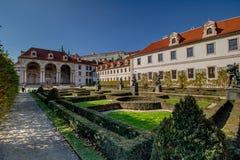 Wallenstein garden in summer, in Prague, Czech Republic royalty free stock photo