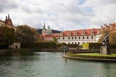 Wallenstein Garden. Waldstein Manege. Wallenstein Garden Waldstein Manege in the Prague. Czech Republic Stock Photo