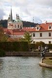 Wallenstein Garden. Waldstein Manege. Wallenstein Garden Waldstein Manege in the Prague. Czech Republic Royalty Free Stock Photography
