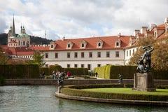 Wallenstein Garden. Waldstein Manege. Wallenstein Garden Waldstein Manege in the Prague. Czech Republic Royalty Free Stock Photos