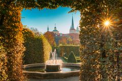 Free Wallenstein Palace And Garden In Prague, Czech Republic Stock Images - 114427194