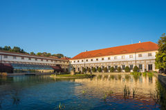 Wallenstein Palace and Garden in Prague, Czech Royalty Free Stock Images