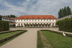 Wallenstein palace garden in prague czech republic europe Royalty Free Stock Images