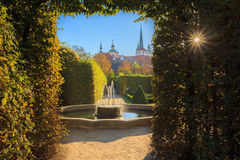 Wallenstein Palace and Garden in Prague, Czech Royalty Free Stock Photo