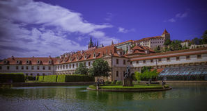 Wallenstein Palace Garden Prague Landmark Stock Image