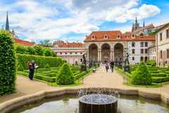 Wallenstein Palace Gardens, Prague Stock Photos