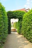 Wallenstein Palace gardens in Prague, summer Royalty Free Stock Photos