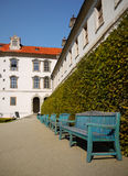 Wallenstein Palace Landmark Prague Travel Stock Image
