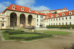 Wallenstein Palace in Prague Stock Photos