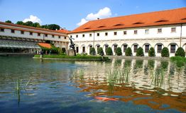 Wallenstein Palace Prague and his garden Royalty Free Stock Images