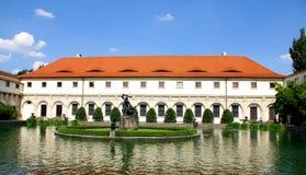 Wallenstein Palace Prague and his garden Stock Photos