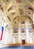 Wallenstein Palace  Prague - Senate of the Czech Republic Stock Photo