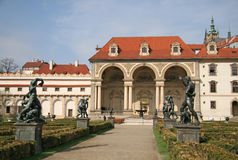 Wallenstein Palace and Wallenstein Garden in Prague, Czech republic Stock Photography