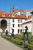 Wallenstein-Palast-Gärten unter dem Prag-Schloss Lizenzfreies Stockbild