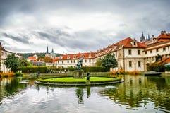 Wallenstein slott Prague Royaltyfri Fotografi