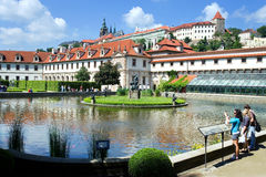 Wallenstein slott, Prague, Tjeckien Royaltyfri Bild