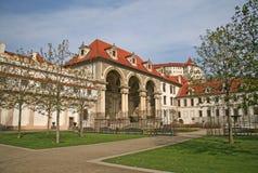 Wallensteinpaleis en Wallenstein-Tuin in Praag, Tsjechische republiek Stock Fotografie