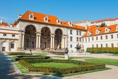 Wallensteinpaleis momenteel het huis van de Tsjechische Senaat in Praag Royalty-vrije Stock Foto's