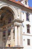 Wallensteinpaleis in Praag, Tsjechische Republiek Stock Afbeelding