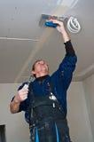 Waller asciutto che fa soffitto Fotografia Stock