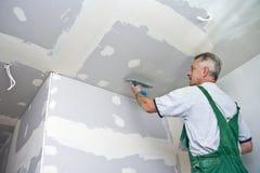Waller seco en el techo Imagen de archivo libre de regalías