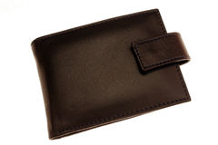 Wallet. Image of a black wallet Royalty Free Stock Image