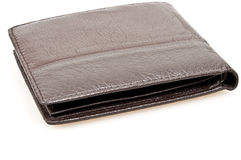 Wallet. Isolated wallet on white background Stock Image