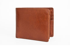 Wallet. A wallet shot against white background Stock Images