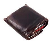 Wallet 2. Wallet with bank and credit cards isolated in white Royalty Free Stock Image