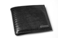Wallet. Full Of Dollar Bills. Isolated On White Royalty Free Stock Photography