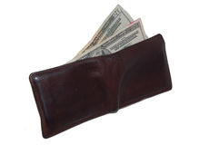 Wallet. With Cash Royalty Free Stock Photography