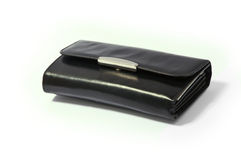 Wallet. Money wallet on the white Royalty Free Stock Photos