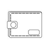 Wallet accessory icon Stock Photo