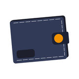 Wallet accessory icon Royalty Free Stock Images
