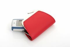 Wallet And Cellphone Royalty Free Stock Photos