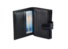 Wallet for bank cards Stock Photo