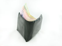 Wallet with banknotes Stock Image