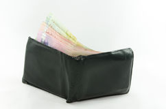 Wallet with banknotes Royalty Free Stock Image