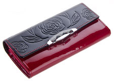 Wallet, Beautiful woman or lady wallet Royalty Free Stock Photos