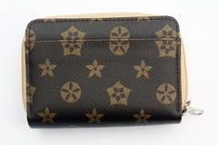Wallet brown Royalty Free Stock Photos