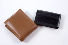Wallet and Business Card Holder Royalty Free Stock Images