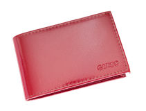 Wallet for cards Royalty Free Stock Photo