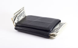Wallet with Cash Stock Photography