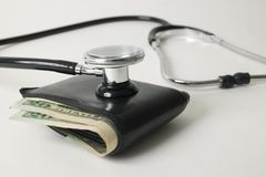 Wallet check Stock Image