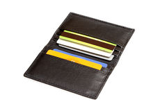 Wallet cradit cards Royalty Free Stock Photos