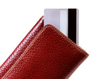 Wallet and credit cards Royalty Free Stock Photo