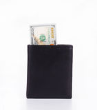 Wallet with dollar bills Royalty Free Stock Image
