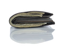Wallet full of dollars Stock Images